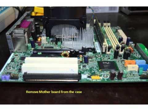 HP compaq dc 7700p 9 beep