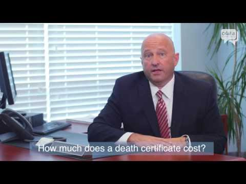 How Much Does a Death Certificate Cost?