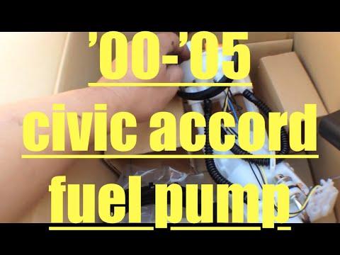Fuel leak!! Replace fuel pump Honda Civic Accord √