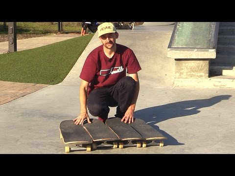 WHAT SIZE SKATEBOARD SHOULD YOU RIDE? (7.75, 8.0, 8.25, etc.)