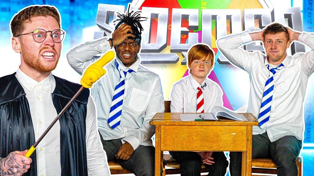 SIDEMEN ARE YOU SMARTER THAN A 10 YEAR OLD