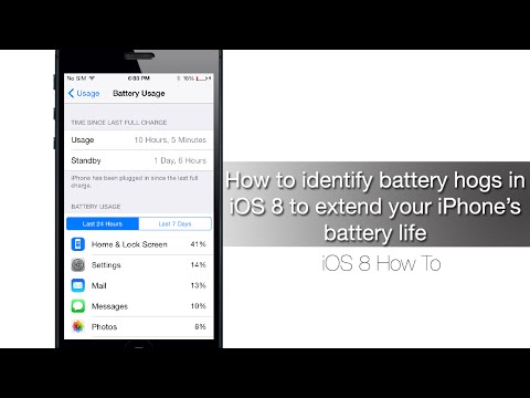 How to identify battery hogs in iOS 8 to extend your iPhone's battery life - iPhone Hacks