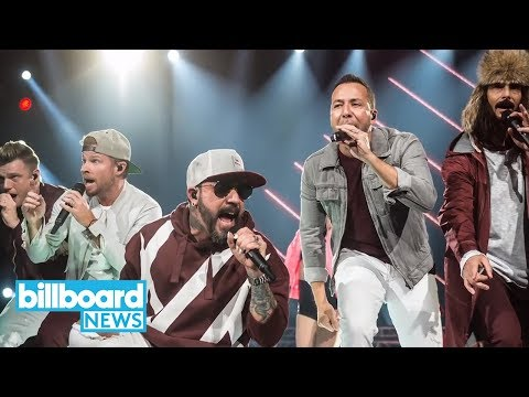 Backstreet Boys Dress Up as Spice Girls During Their Cruise | Billboard News