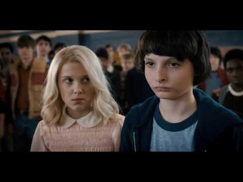 Stranger Things - Eleven Makes Troy Pee On Himself (HD)
