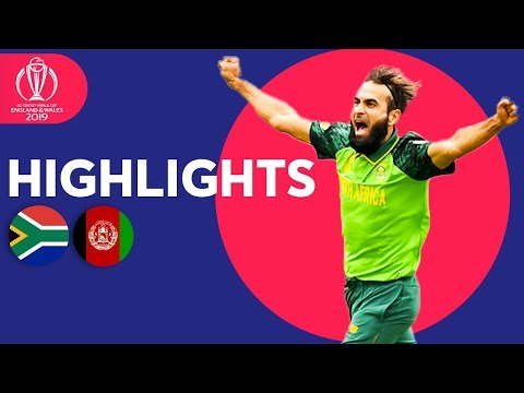 Xxx Mp4 South Africa Vs Afghanistan Match Highlights ICC Cricket World Cup 2019 3gp Sex