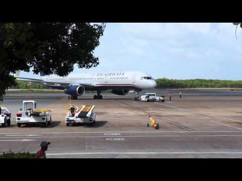 Plane spotting at Punta Cana Airport
