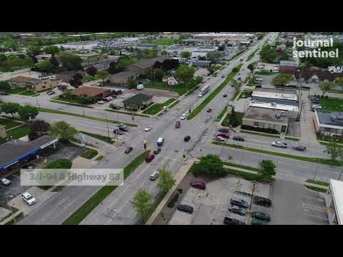 Dangerous intersections in Milwaukee area