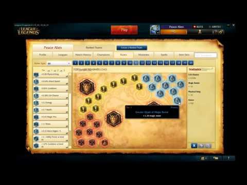Zed Runes/Masteries S5