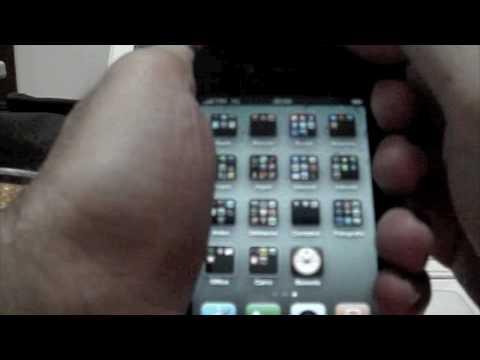 Teste da qualidade de sinal do iPhone 4