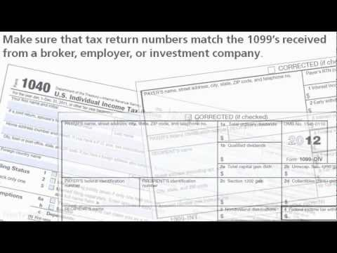 Report Investment Income Using Form 1099