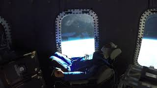 Mannequin Skywalker's ride to space onboard Crew Capsule 2.0