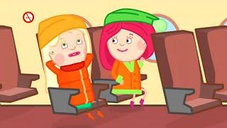 Download Смарта в самолете - Мультики - Детский канал Капуки Девочки Video