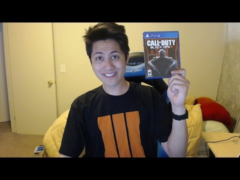 Call of Duty Black Ops 3 Unboxing III PS4, Xbox One, PC, PS3, Xbox 360