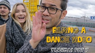 FILMING A DANCE VIDEO | VLOGMAS DAY 7