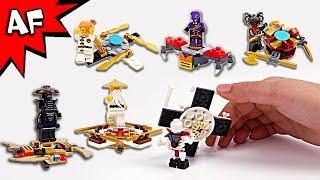 Lego Ninjago Brick Building FIDGET SPINNERS with Sensei & Villian Minifigures