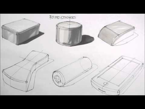 basic sketching techniques rounded corners