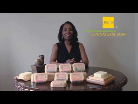 Luxurious Natural Handmade Soap Bars with Goat Milk and Unrefined Shea Butter