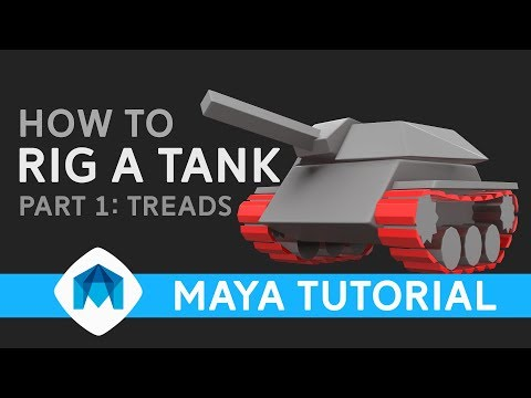 How to rig a tank in Maya - part 1