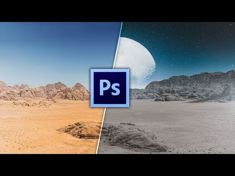 HOW TO REPLACE THE SKY IN ADOBE PHOTOSHOP | Photoshop tutorial | TechGenieT3G