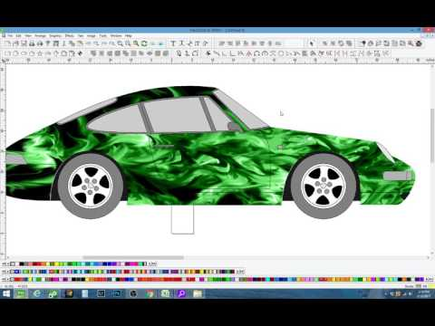 Flexi Pro Tutorial Vehicle Templates Designing Vehicle Wraps For Beginners