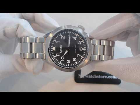 Men's Fossil Aeroflite Stainless Steel Watch AM4562