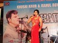 """Grand Musical celebration with  live-band of Khushi Kaur at Launch of Music video album """"KHAWAB"""""""