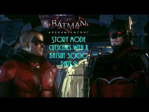Batman Arkham Knight: Story Mode Cutscenes with the JL Batsuit 3000 Part 2