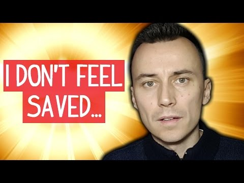 I DON'T FEEL SAVED...
