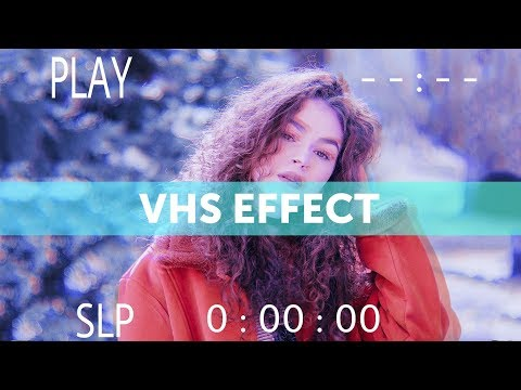 How to Make a VHS Glitch Edit