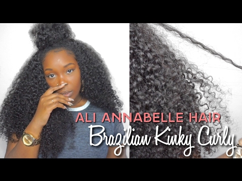 Annabelle Hair | Brazilian Kinky Curly | Aliexpress