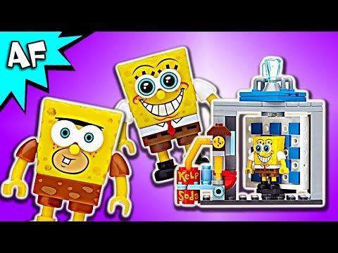 Mega Bloks SpongeBob Movie: Photo Booth Time Machine Speed Build