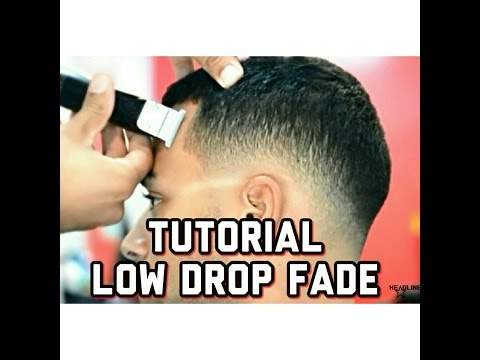 How to do Drop Fade Low Fade Haircut