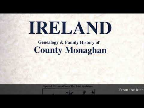 Cantwell family history; Co. Monaghan genealogy notes; Sean Nos dance challenge; IF92