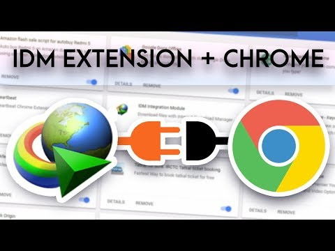 How to Fix IDM Plug-In Not Available In Google Chrome & Allow in Incognito Mode 2018