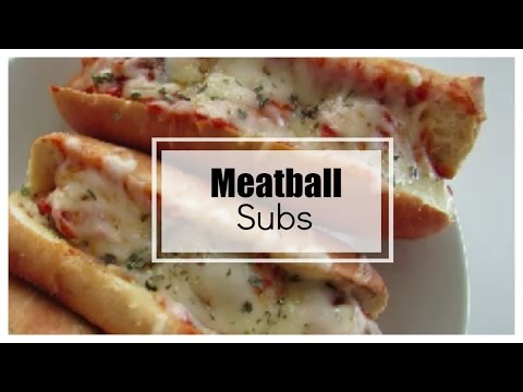 Meatball Sub Recipe featuring Mezzetta Marinara