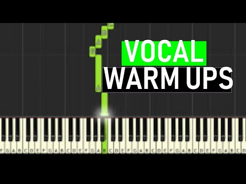 ♬ VOCAL WARM UPS #3 Minor Harmonic Scales 14 mins - By Soulphonic ♬