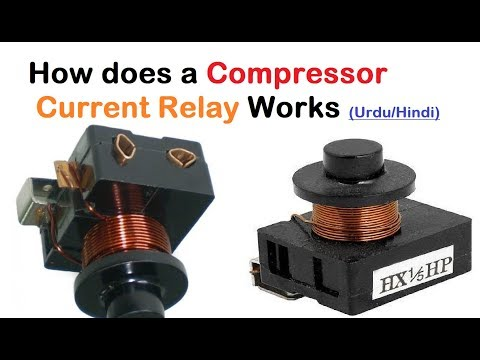 How does a Compressor Current Relay Work || Urdu/Hindi Explained