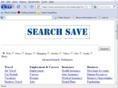 How to Change Homepage from Searchsave.com in Firefox