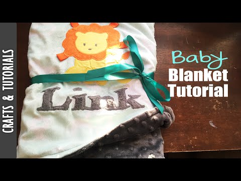 DIY:  Baby blanket, sewing tutorials - The290ss