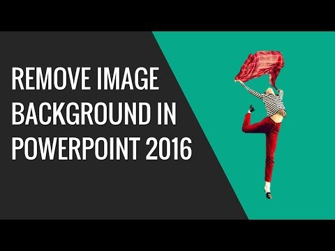 How to remove image background in PowerPoint 2016