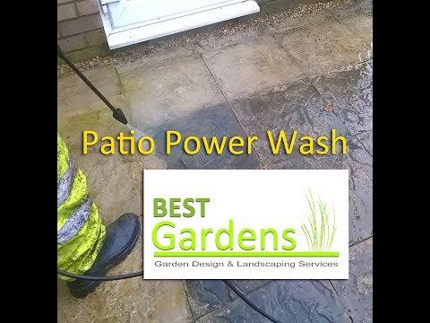 Patio Power Wash