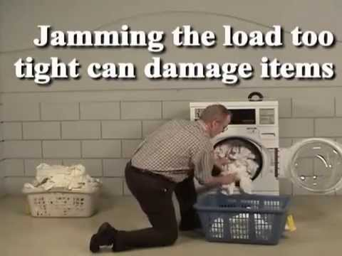Front Load Washer - Load Sizes