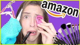 Trying Amazon Beauty Tools!