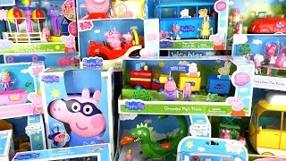 NEW!!! 2016 PEPPA PIG  A LOT OF TOYS!