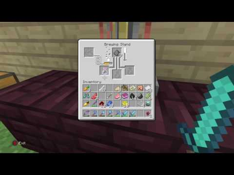 Minecraft  How To Craft A Splash Potion Of Poison