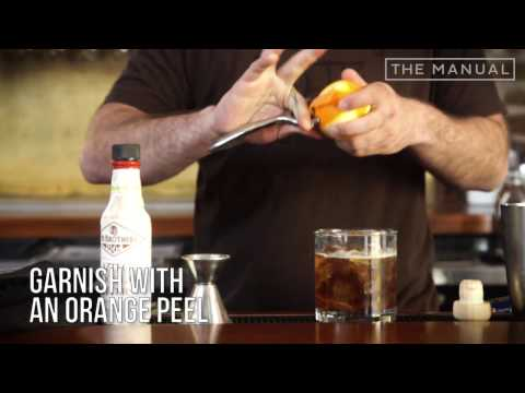 The Manual Bartender - How To Make A Marty McRye