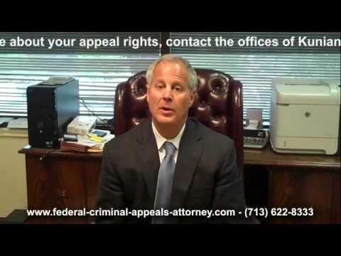 Houston Criminal Attorney Federal Appeals