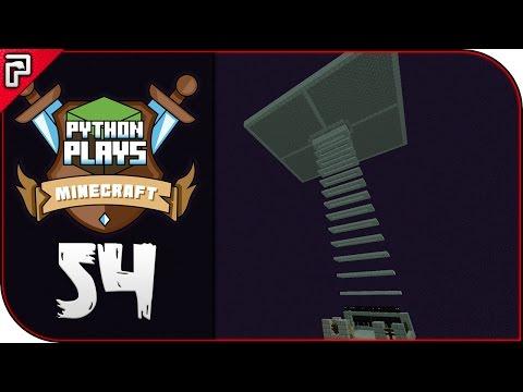 The Simple Enderman Farm! | Minecraft 1.11 PC | Python Plays Minecraft Survival [S2 - #54]