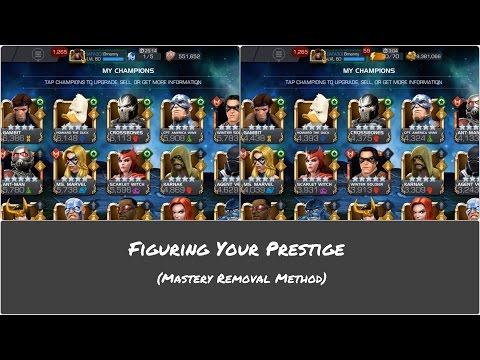 Masteries & Figuring Your Prestige