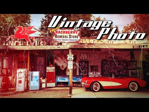 Photoshop: How to Create the Look of Vintage, Color Photos